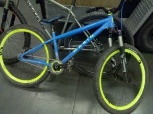 Anddrew Taylor's Marin Alcatraz bike