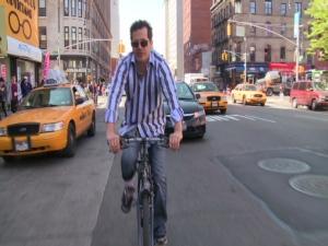 John Leguizamo cycling