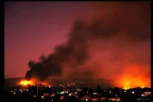 Oakland Firestorm 1991
